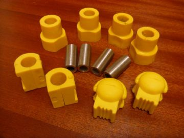 Suspension Front Wishbone / Anti Roll Bar Bushes Polyurethane